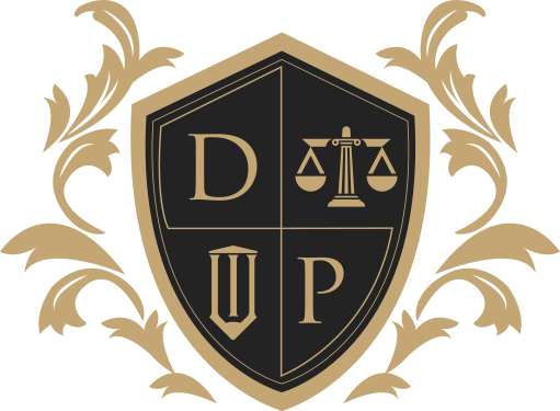DVPLAW LOGO PNG GOLD and BLACK
